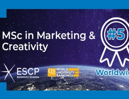 MSc in Marketing & Creativity  Ranked in Top 5 Worldwide by QS